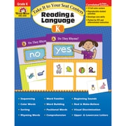 "Evan-Moor® ""Take It To Your Seat Centers: Reading..."" Grade K Resource Book, Language Arts/Reading"
