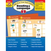 """Evan-Moor® """"Take It To Your Seat Centers: Reading..."""" Grade 1 Resource Book, Language Arts/Reading"""
