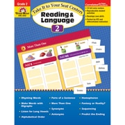 "Evan-Moor® ""Take It To Your Seat Centers: Reading..."" Grade 2 Resource Book, Language Arts/Reading"