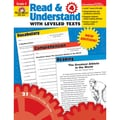 Evan-Moor® in.Read and Understand With Levelled Textsin. Grade 4 Resource Book, Language Arts/Reading
