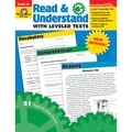 Evan-Moor® in.Read and Understand With Levelled Textsin. Grade 6+ Resource Book, Language Arts/Reading