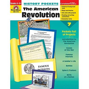 Evan-Moor® History Pockets: The American Revolution Teacher Resource Book