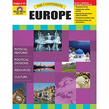 Evan-Moor® The 7 Continents Europe Teacher Resource Book