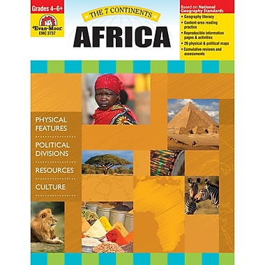 Evan-Moor® The 7 Continents Africa Teacher Resource Book