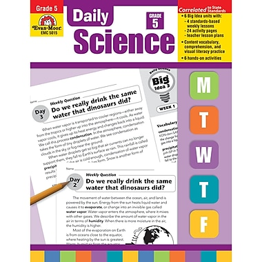 Evan-Moor® Daily Science Teacher's Edition Book, Grades 5