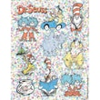 Eureka® Dr. Seuss™ Characters Sparkle Sticker, Assorted