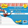 Eureka® Dr. Seuss™ in.Hat-to-Feetin. Handwriting Practice Paper, Handwriting Skills