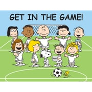 Eureka® Peanuts® Get In Game Poster