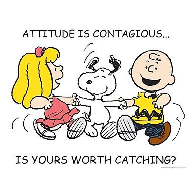 Eureka® Peanuts® Attitude Poster