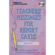 Carson Dellosa® Third Edition Teachers' Messages For Report Cards