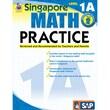 Carson Dellosa® Frank Schaffer Singapore Math Practice Level 1A Workbook, Grades 1 - 2