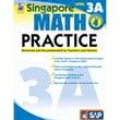Carson Dellosa® Frank Schaffer Singapore Math Practice Level 3A Workbook, Grades 4