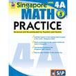 Carson Dellosa® Frank Schaffer Singapore Math Practice Level 4A Workbook, Grades 5