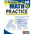 Carson Dellosa® Frank Schaffer Singapore Math Practice Level 6B Workbook, Grades 7