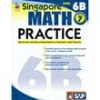 Carson Dellosa® Frank Schaffer Singapore Math Practice Level 6B Workbook, Grades 7