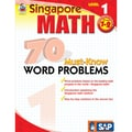 Carson Dellosa® Frank Schaffer Singapore Math 70 Must-Know Word Problems Level 1 Workbook, Grades 2