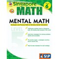 Carson Dellosa® Frank Schaffer Singapore Math Mental Math Level 5 Workbook, Grades 6