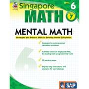 Carson Dellosa® Frank Schaffer Singapore Math Mental Math Level 6 Workbook, Grades 7