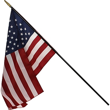 Flagzone® Heritage U.S. Classroom Flag, 24in. x 36in.