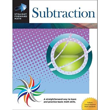 Garlic Press Straight Forward Math Subtraction Book, Grades PreK - 12