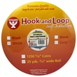 "Hygloss™ Hook and Loop Fastener, 3/4"" x 25 yds."