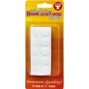 "Hygloss™ Hook and Loop Fastener Coins, 5/8"", 15/Box"