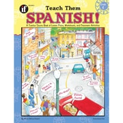Carson Dellosa® Teach Them Spanish! Resource Book, Grades 4