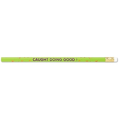 J.R. Moon Pencil Co. Caught Doing Good Pencil, 12/Pack
