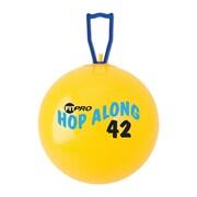 Champion Sports® Fitpro 16 1/2 Hop Along Pon Pon Ball, Yellow