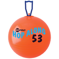 Champion Sports® Fitpro 20 1/2in. Hop Along Pon Pon Ball, Red
