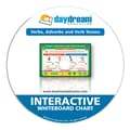 Daydream Education® Verbs Adverbs & Verb Tenses Interactive Whiteboard Chart, Grades 2 - 5
