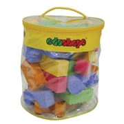 Edushape® 30 Piece Textured Colored Blocks