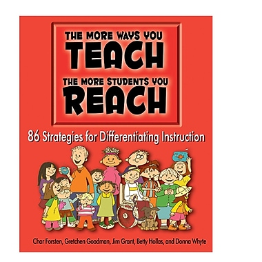 Essential Learning® The More Ways You TEACH, the More Students You REACH Book, Grades K - 6