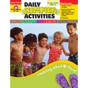 Evan-Moor® Daily Summer Activities: Moving from PreK to Kindergarten Activity Book, Grades PreK - K