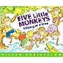 Houghton Mifflin Five Little Monkeys Sitting in a