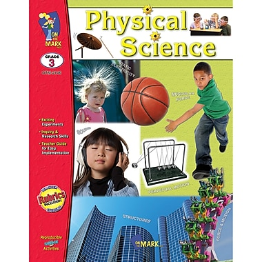 On The Mark Press® in.Physical Sciencein. Book, Grades 3