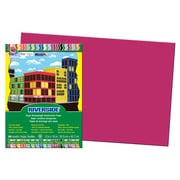 Pacon® Riverside® Groundwood Construction Paper, Scarlet Red, 18(H) x 12(W), 50 Sheets