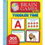 Publications International Toddler Time Brain Game For Kids