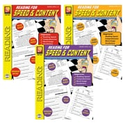 "Remedia® ""Reading For Speed & Content"" Grade 2nd-5th Book Set, Language Arts/Reading"
