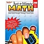 Houghton Mifflin Just-a-Minute Math Reproducible Book, Grades 1