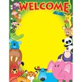 Trend Enterprises® Welcome (Awesome Animals) Learning Chart, Science