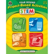 Teacher Created Resources Year Round Project-Based Activities For STEM Book, Grades 2 - 3