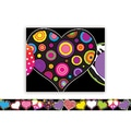 Teacher Created Resources Infant - 12th Grade Straight Border Trim, Fancy Hearts