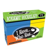 Teacher Created Resources I Have Who Has Academic Vocabulary Game, Grades 1-2