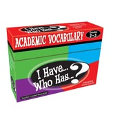 Teacher Created Resources I Have Who Has Academic Vocabulary Game, Grades 2-3