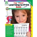 Carson Dellosa® in.The First Learning to Printin. Grade P-K Resource Book, Early Learning/Language Arts