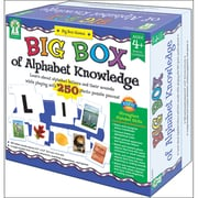 Carson Dellosa® Big Box of Alphabet Knowledge Board Game, Early Learning/Language Arts