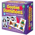 Key Education Publishing Double Dominoes: Colors & Numbers Board Game, Grades Preschool-1