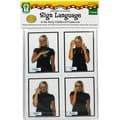 Key Education Publishing Will Ship 06/19/2014: Sign Language... Learning Cards, Grades PreK - 2