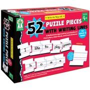 Key Education Publishing Write - On/Wipe - Off: 52 Piece Puzzle, Grades PreK - 1